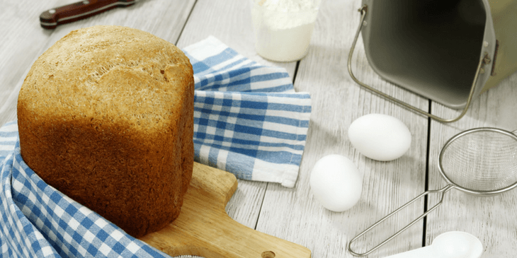 Loaf Of Bread Made In The Best Cuisinart Bread Maker