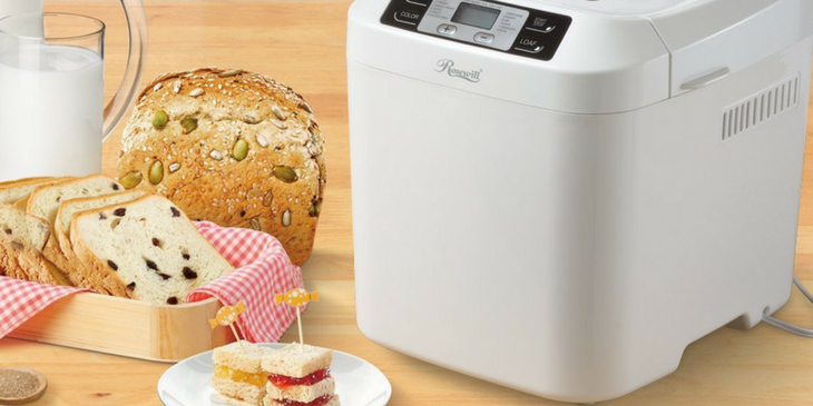 Gluten Free Bread Machine with Various Breads