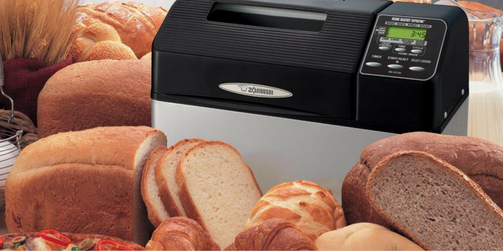Best Zojirushi Bread Maker with Loafs of Bread