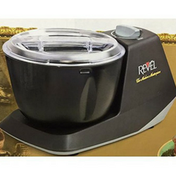 Revel CDM301 Atta Dough Mixer Maker Non Stick Bowl, 3 L, Black Image