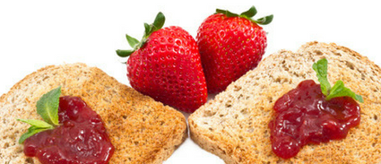 Bread With Jam Image