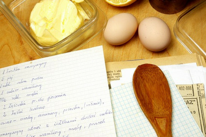 Recipe, Spoon, Eggs, Butter