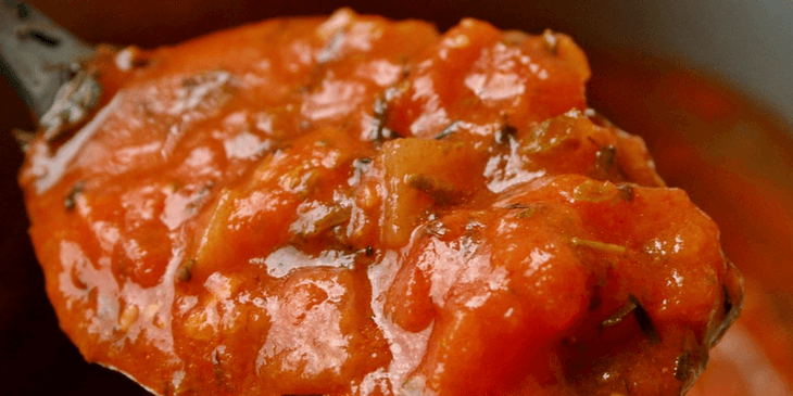 Tomato Sauce Made In A Bread Maker