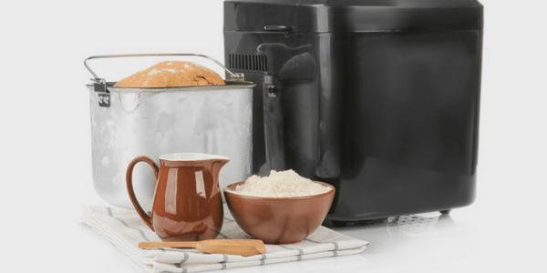 Bread Maker With Ingredients