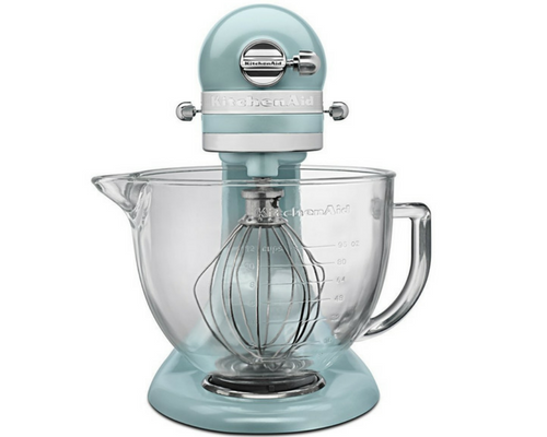 KitchenAid KSM155GBAZ Artisan Design Series with Glass Bowl Comparison