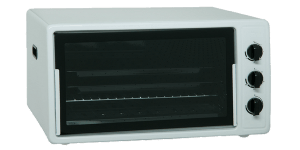 Side Front Image Of A Toaster Oven