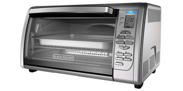 Black And Decker Toaster Oven Image
