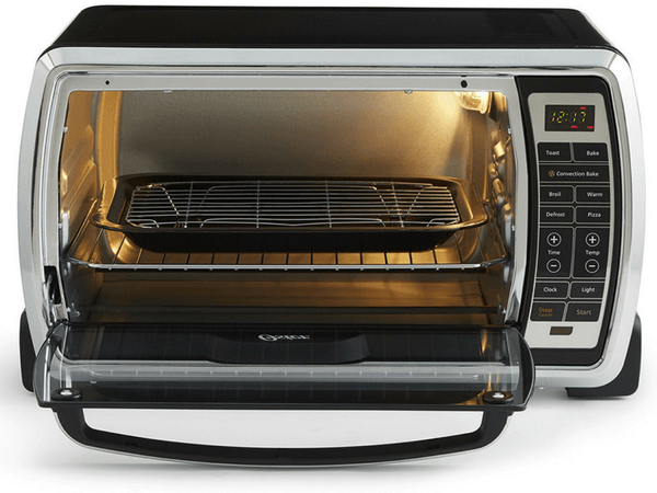 Oster Digital Convection Toaster Oven With Door Open